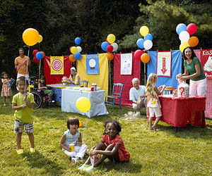inspiration ideas for 9 year old birthday party at home. Carnival Party  Host a Backyard Bash Birthday Themes Creative Theme Ideas